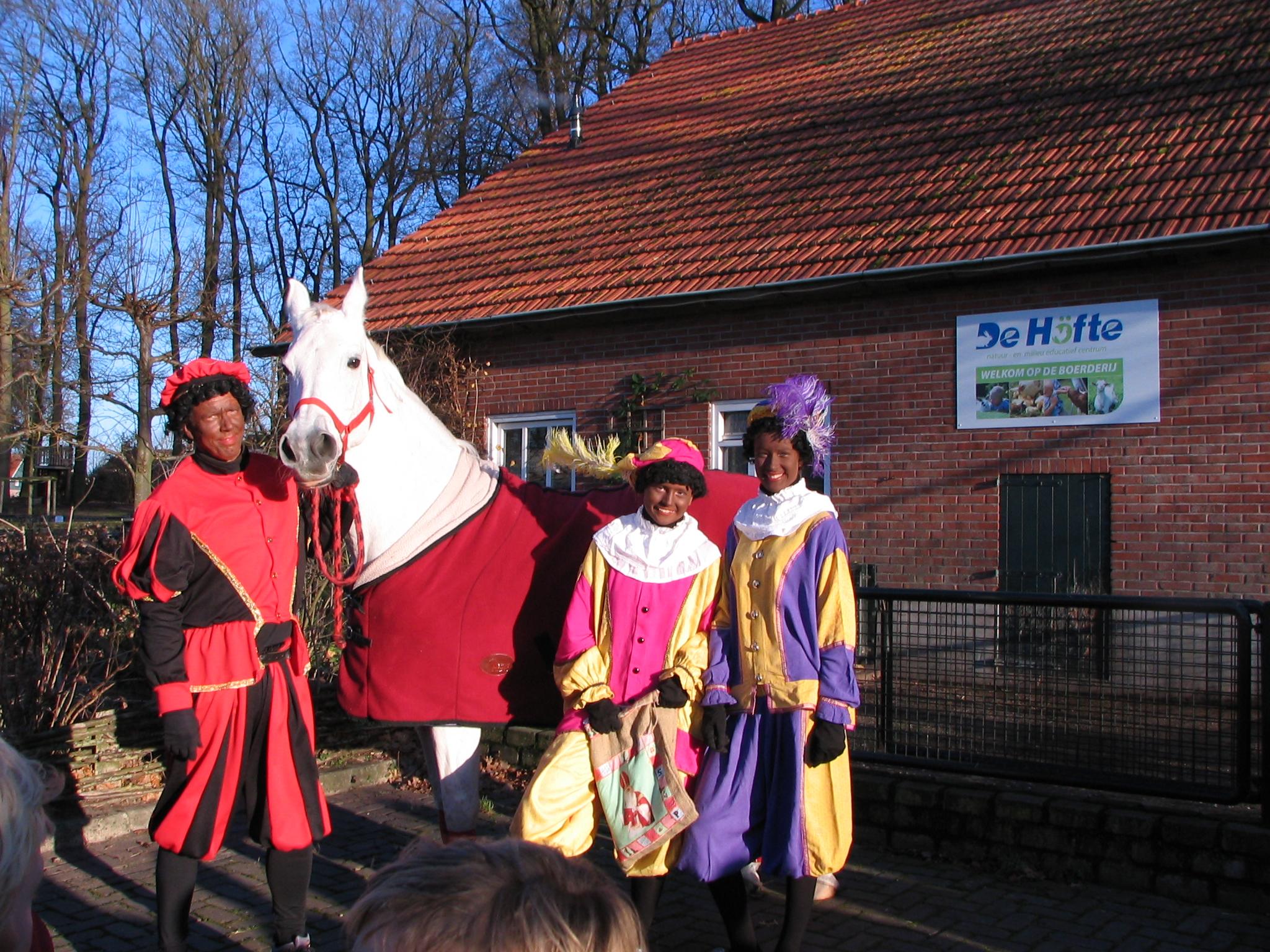Paard Van Sinterklaas Logeert Op De H 246 Fte De H 246 Fte