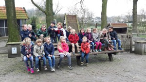 kabouterpad picknicktafel